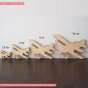 Ξύλινο Διπλάνο διακοσμητική φιγούρα