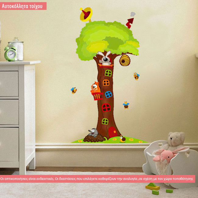 Kids wall stickers Treehouse
