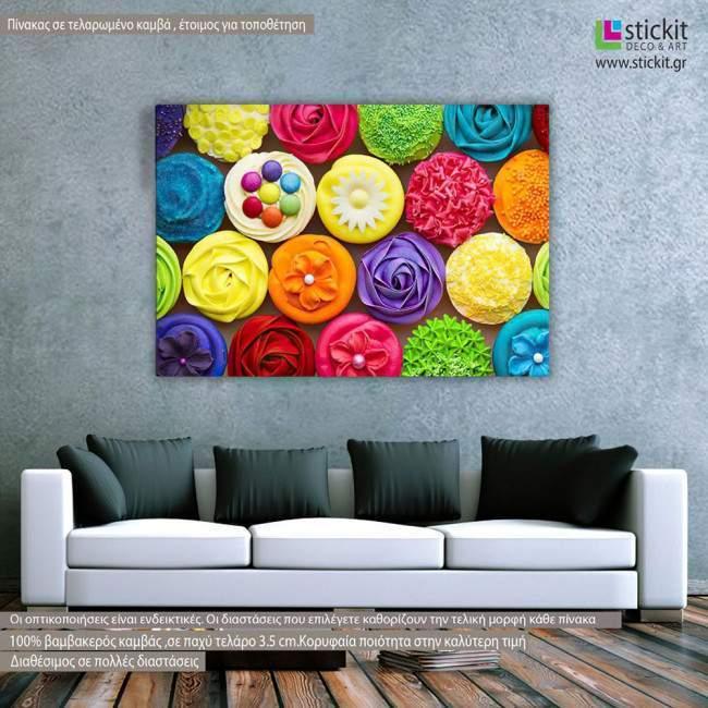 Canvas print Cupcakes