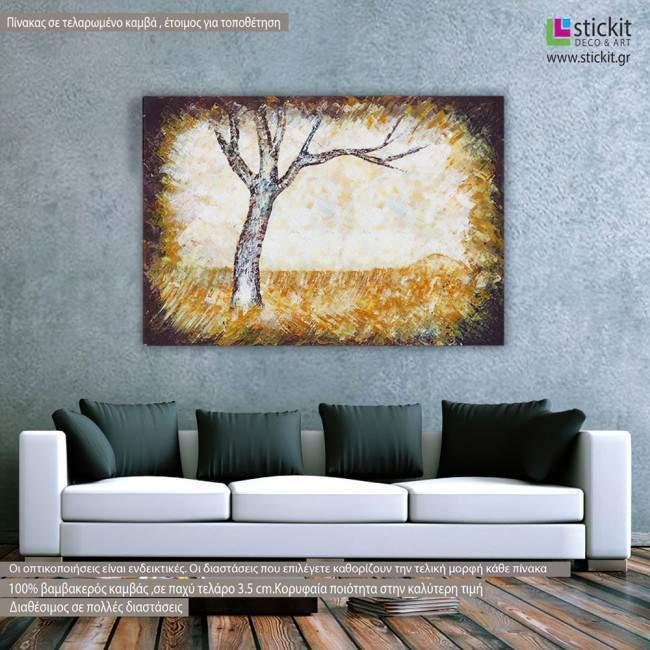 Canvas print Autumn scenery