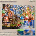 Canvas print Hanging village