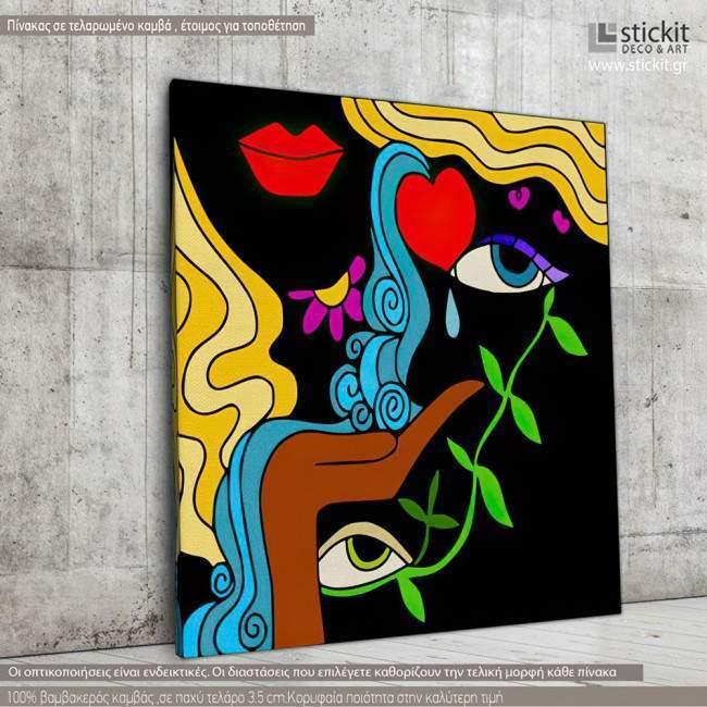 Canvas print Passion