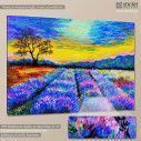 Canvas print Lavender field at Provence