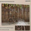 Πίνακας σε καμβά Ποδήλατο, Old style rusty brown bicycle