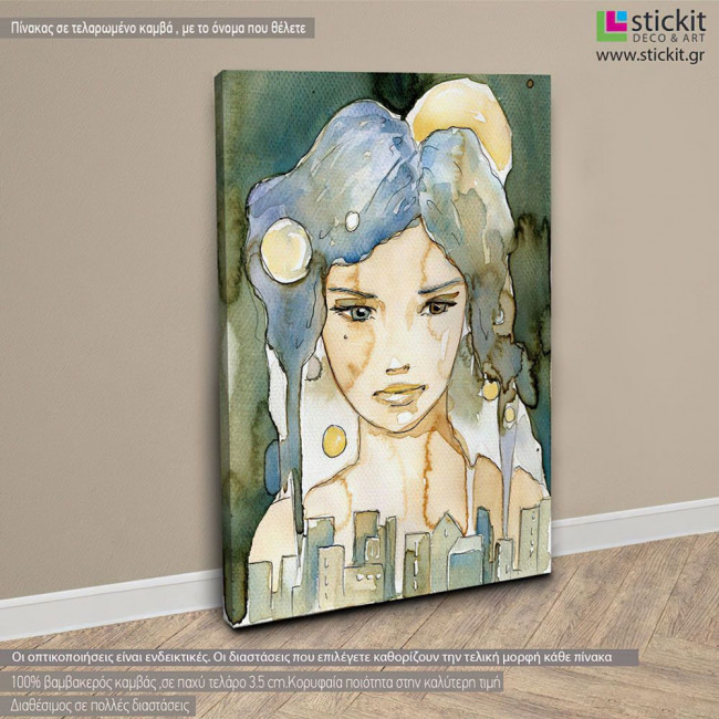Canvas print Beautiful woman