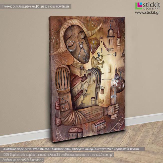 Canvas print Allegory of time