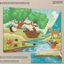 Kids canvas print Countryside