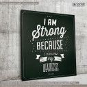 Canvas print I am strong