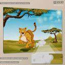Kids canvas print The cheetah