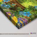 Kids canvas print Forest scene