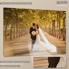 Canvas print  Yor wedding photo