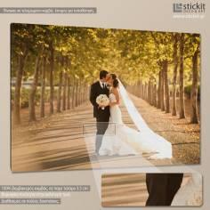 Canvas print  Yor wedding photo