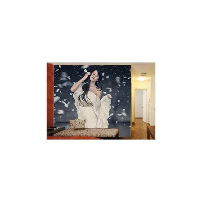 Ταπετσαρία τοίχου Όμορφη γυναίκα