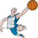 Wall stickers Basketball dunk  3