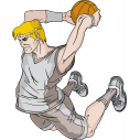 Wall stickers Basketball dunk 4