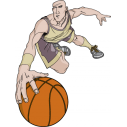 Μπασκετ κάρφωμα 7 Αυτοκόλλητο τοίχου