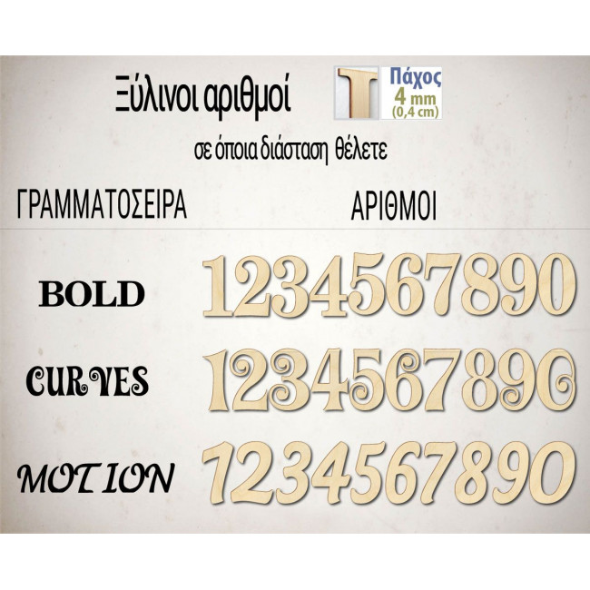 Ξύλινοι αριθμοί
