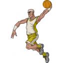 Μπασκετ κάρφωμα 8 Αυτοκόλλητο τοίχου