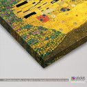 Canvas print Muppet kiss, (based on The kiss by Klimt G), detail