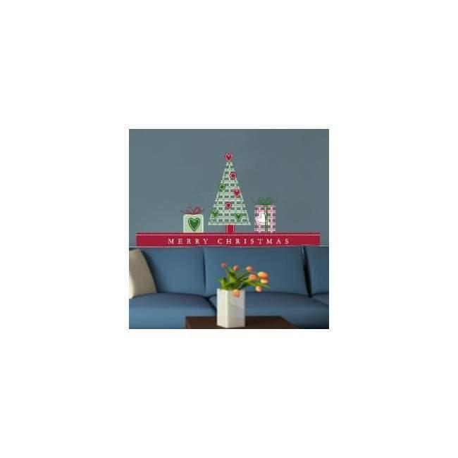 Χριστουγεννιάτικο σετ διακόσμησης  Αυτοκόλλητο τοίχου