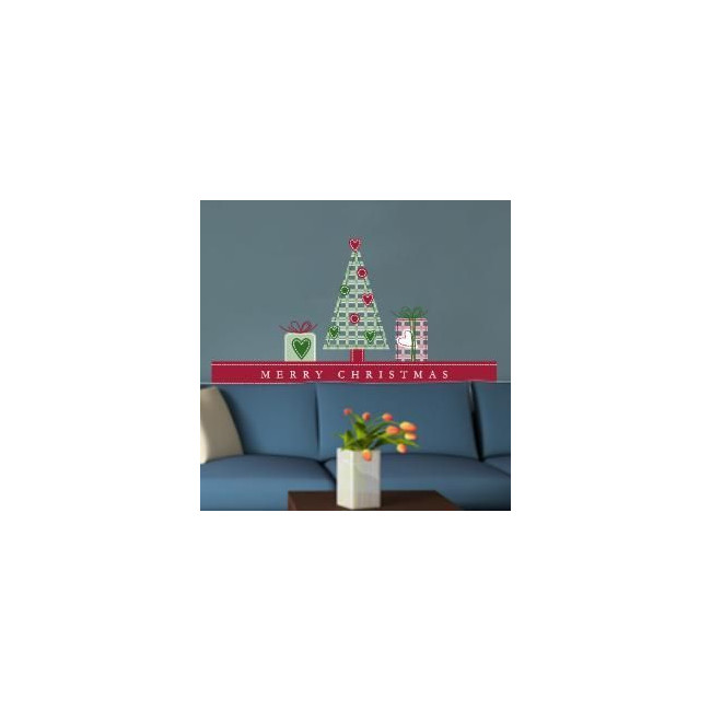 Wall stickers Christmas decoration set