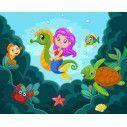 Wallpaper Mermaid at seabed