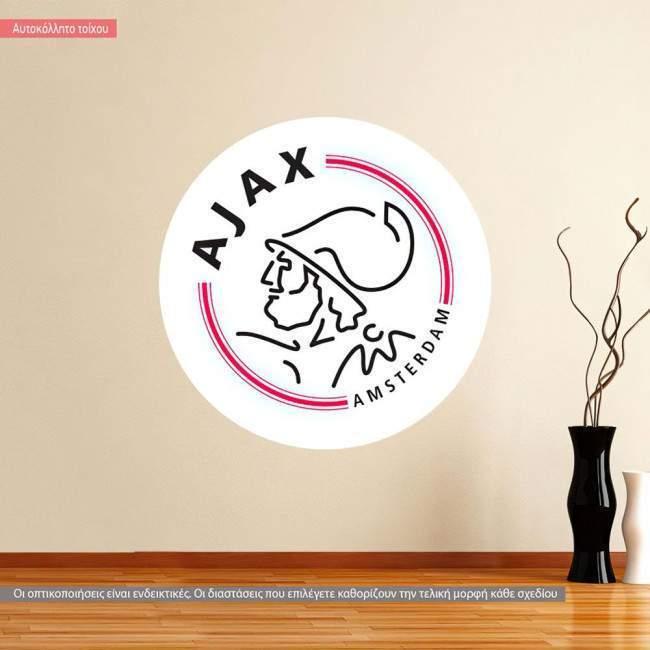 Αυτοκόλλητο τοίχου Ajax