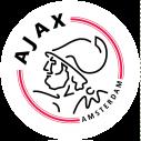 Ajax, αυτοκόλλητο τοίχου σήμα Αγιαξ, κοντινό