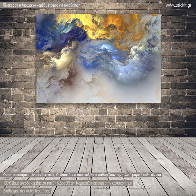 Canvas print Amazing clouds