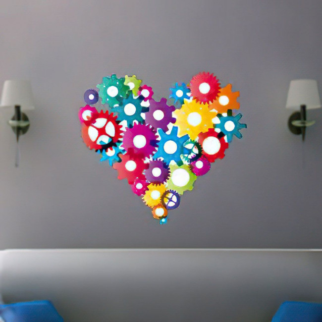 Wall stickers The gears of heart