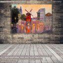 Πίνακας σε καμβά Παρίσι, Moulin rouge, Paris