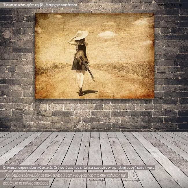 Canvas print Summer journey