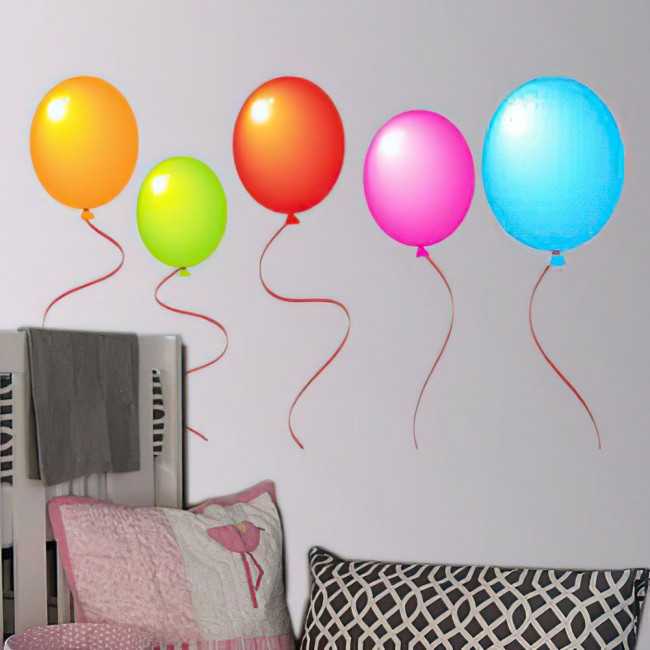 Kids wall stickers Colorful balloons