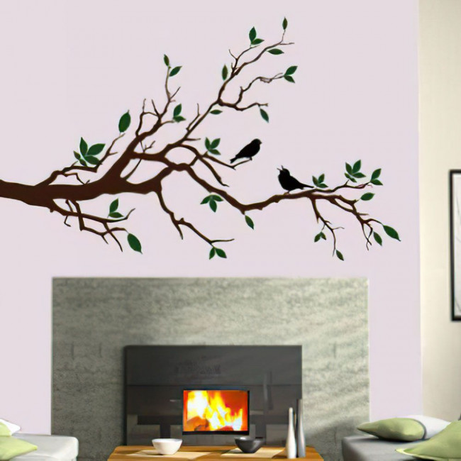 Wall stickers Singing birds
