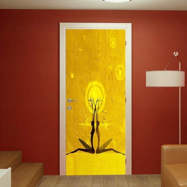 Αυτοκόλλητο πόρτας Rebirth