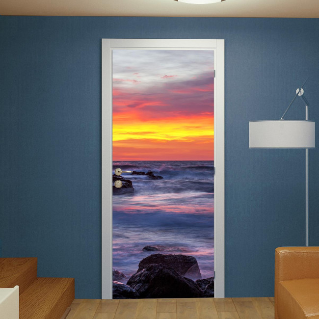 Door sticker Mare archipelago Toscano