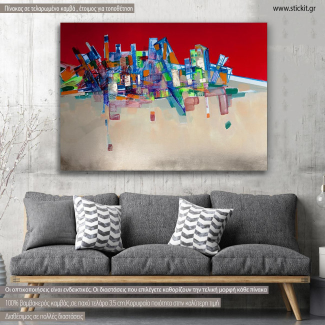 Canvas print Abstract architecture