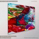 Canvas print Abstract painting VI, side