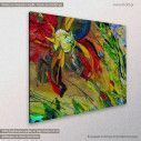 Canvas print Abstract painting VII, side