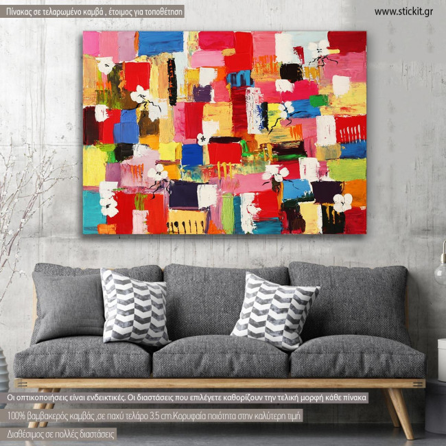 Canvas print Abstract painting VIII