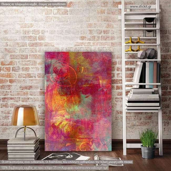 Πίνακας σε καμβά Abstract background I