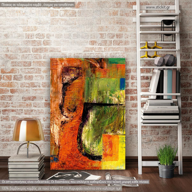 Canvas print abstract, Abstract background II