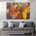 Πίνακας σε καμβά Abstract painting XI