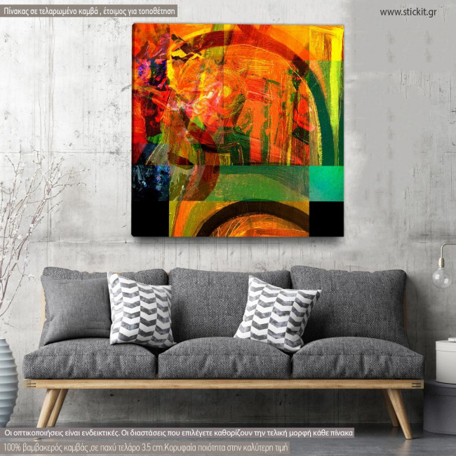 Canvas print Abstract background III