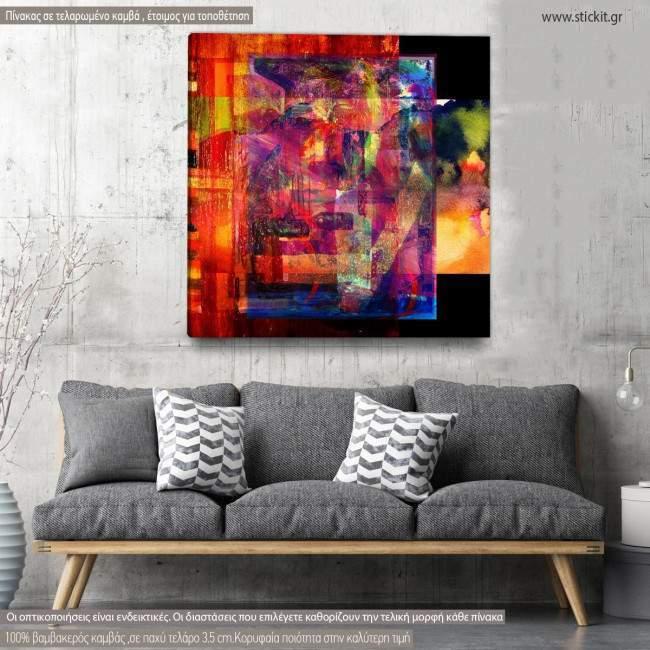 Πίνακας σε καμβά Abstract background IV