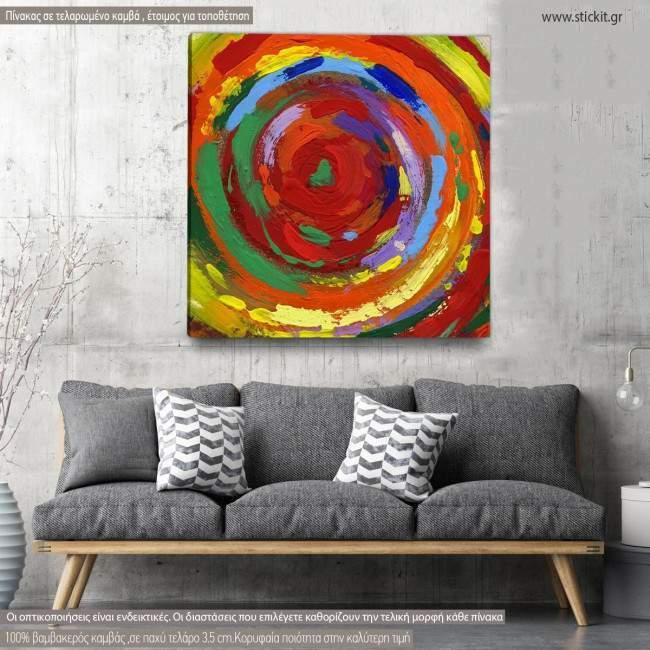 Πίνακας σε καμβά Abstract background V