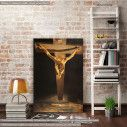 Canvas print Christ of st.John on the cross, Dali Salvador