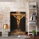 Πίνακας ζωγραφικής Christ of st.John on the cross, Dali Salvador, αντίγραφο σε καμβά