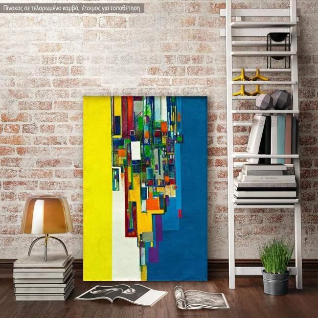Πίνακας σε καμβά Abstract background VIII