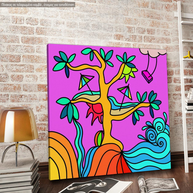 Canvas print Fantasy Tree